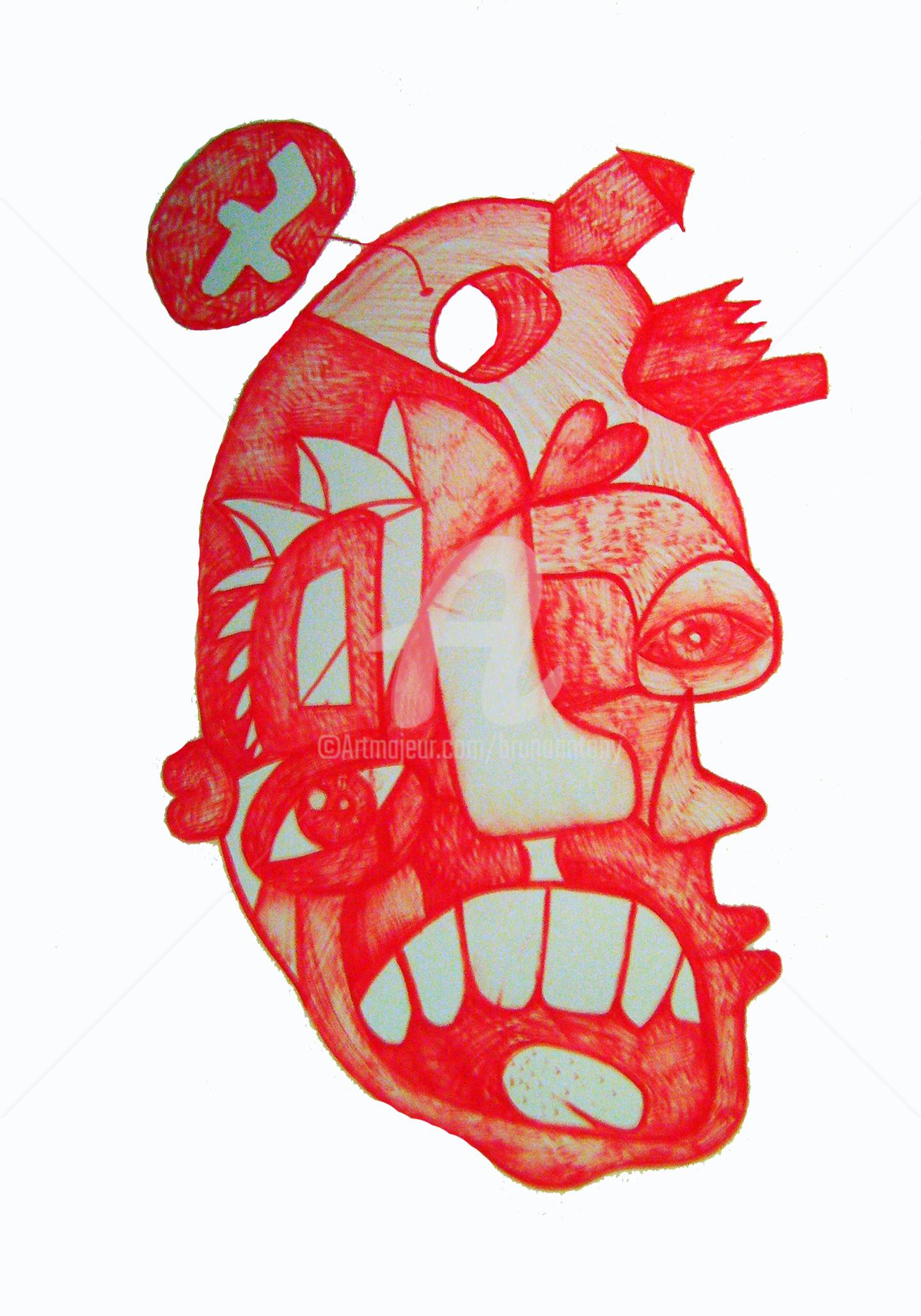 Bruno Antony-Thouret (bruno antony) - Homme multiple rouge