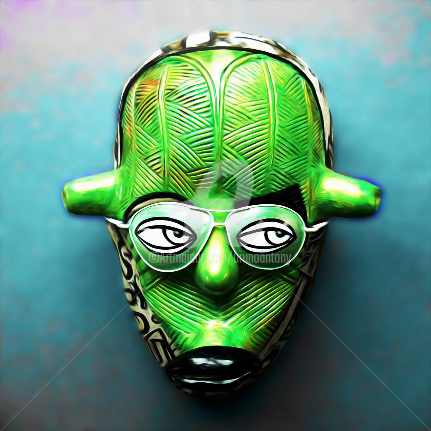 Bruno Antony-Thouret (bruno antony) - Green mask