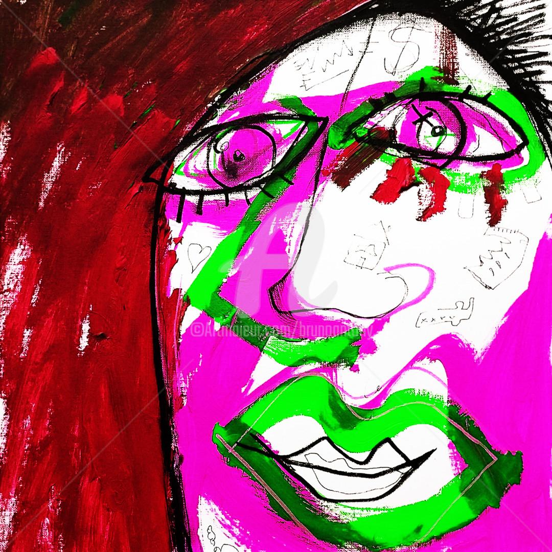 Bruno Antony-Thouret (bruno antony) - Migrant au vert et rouge
